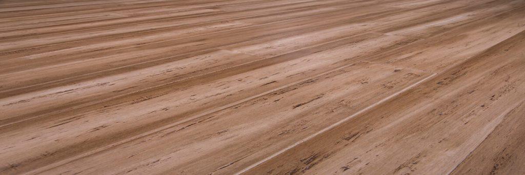 Bamboo panel flooring
