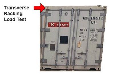 Transverse Racking Test Load