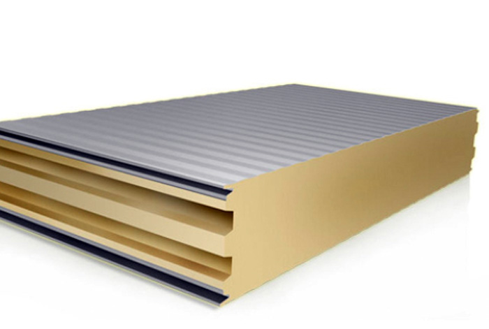 Wall-sandwich-panel-container insulation
