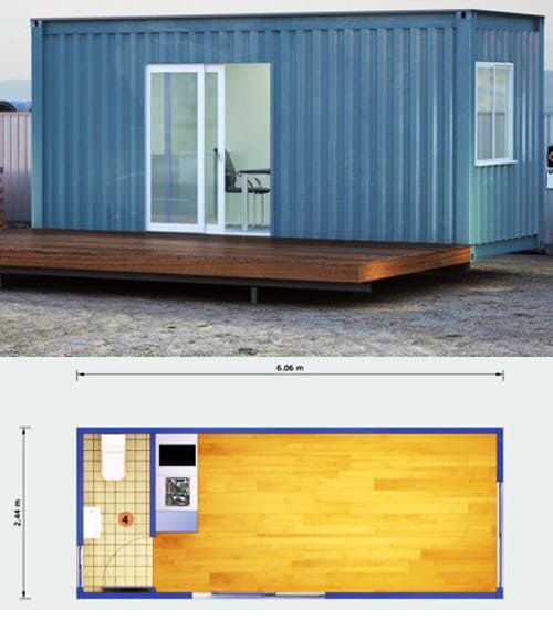 Office shipping container (2)