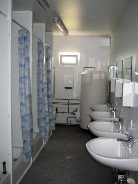container public bathrooms