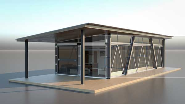 Shipping container home builder Iowa