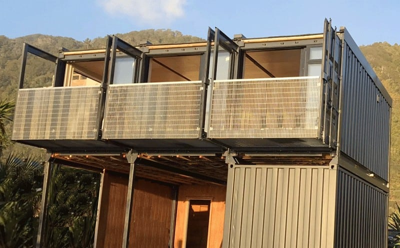 Two-Story-Container-Home-manufactured-by-Shape-Construction-LtdNZ