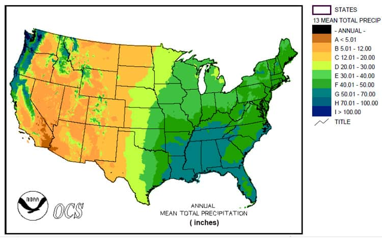 USA-precipitation-map