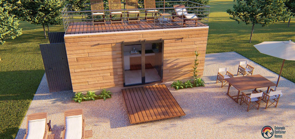 Container home builder Colorado