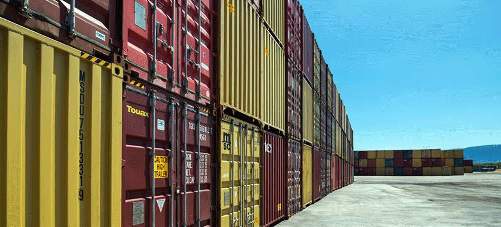 shipping container types and sizes