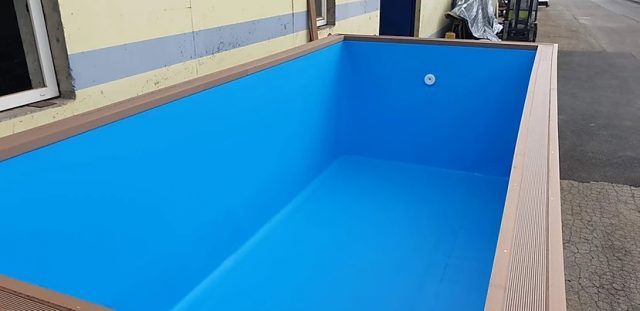 container pool water isolation