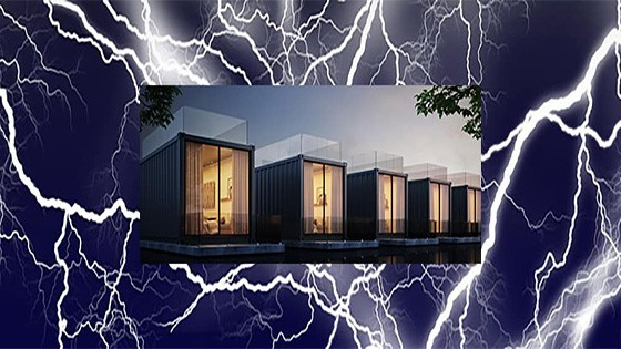 protect shipping container home