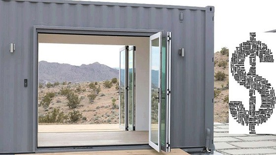 building container home price