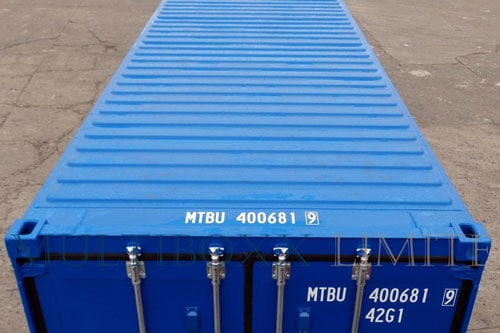 Container roof