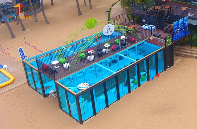 Playground Container Pool