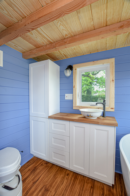 Tiny home toilet design idea