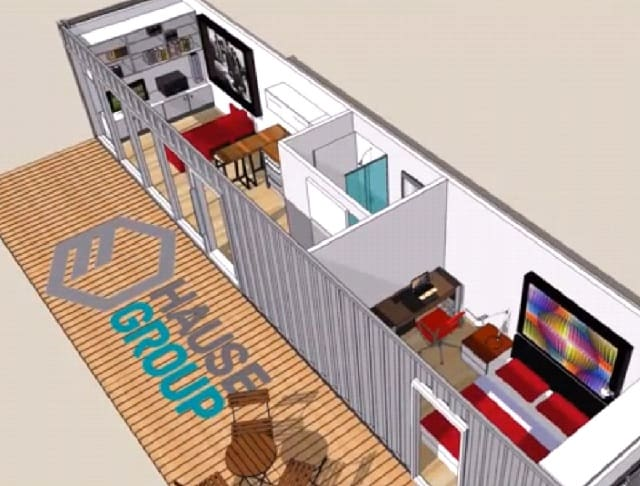 3d plan container homes Florida