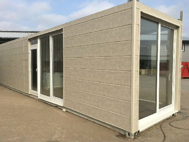 40ft shipping container home UK 1