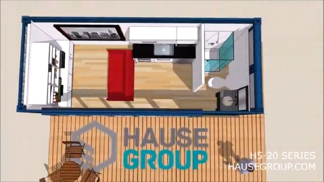 Buy Shipping Container Home 3d plan Online in California
