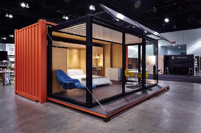 Buy Shipping Container Home Online in Florida exterior