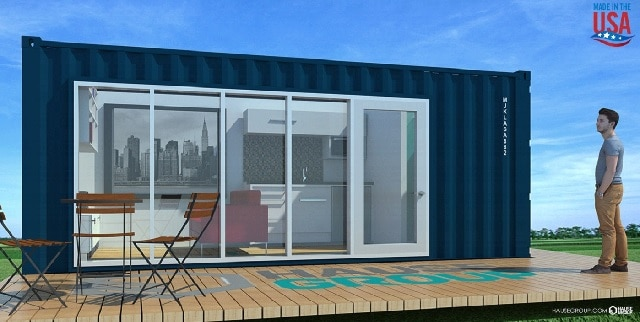Buy Shipping Container House Online in California