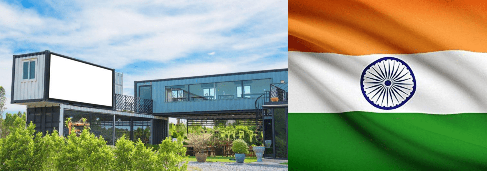 Buy shipping container home in India