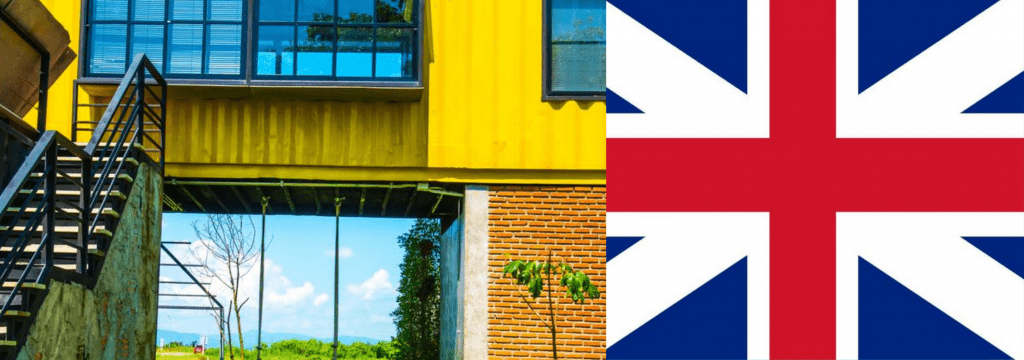 Buy shipping container home in UK