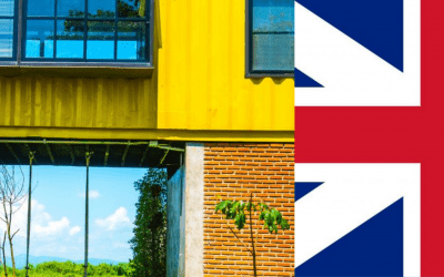 Buy Shipping Container Home Online in the UK