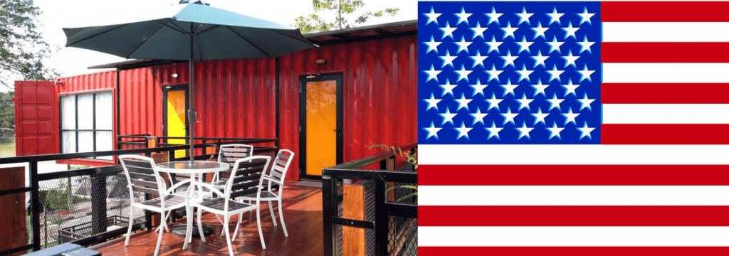 Buy shipping container home in US
