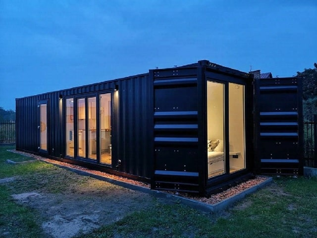 Buying container home in UK