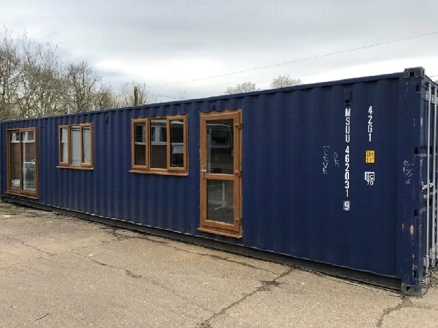 Small container home UK 1