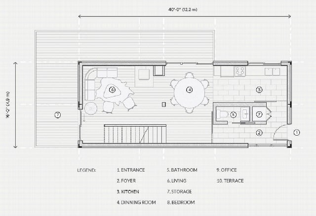 container home plan Canada