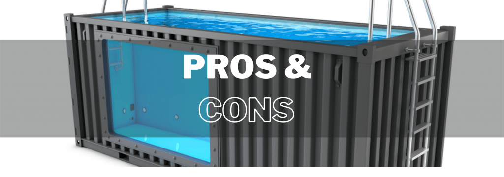 container pool pros and cons