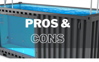 Pros and Cons of Shipping Container Pools