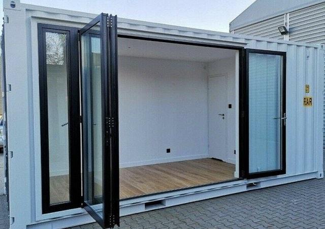 container studio tiny home