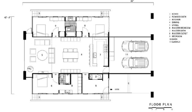 floor plan container home Florida