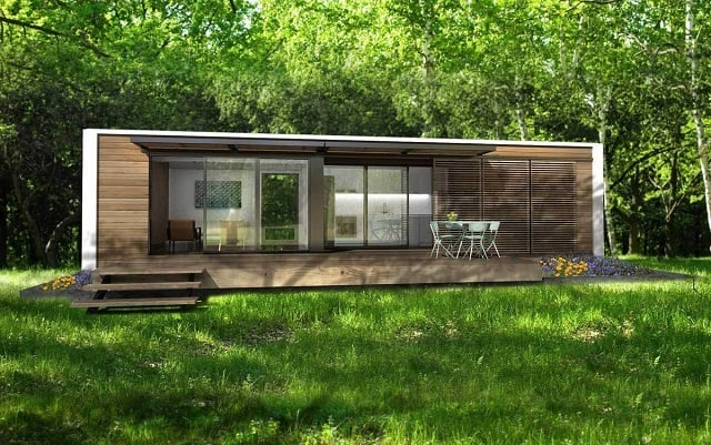 luxury shipping container studio