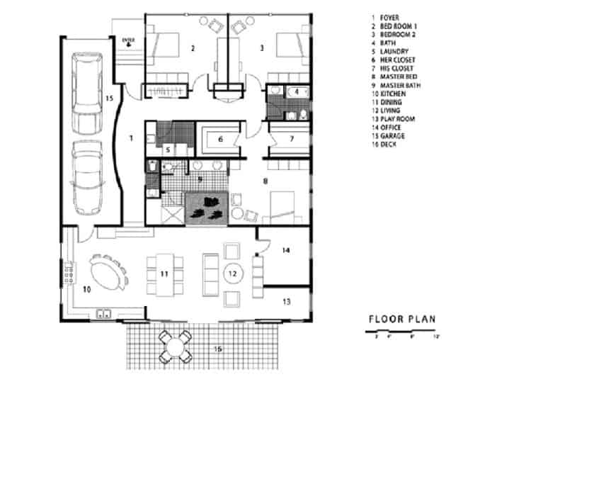 prefab shipping container home floor-plan