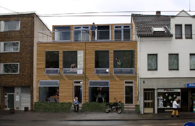 shipping container townhouse Canada