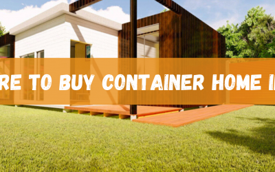 Where to Buy Shipping Container Homes in US