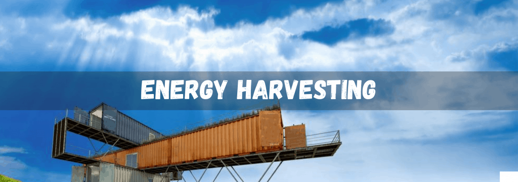 energy harvesting container off-grid