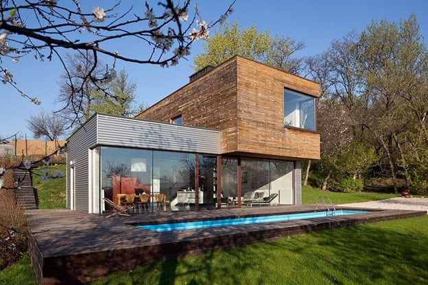 Luxury Container House Ukraine