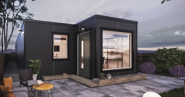 two bedroom shipping container cabin