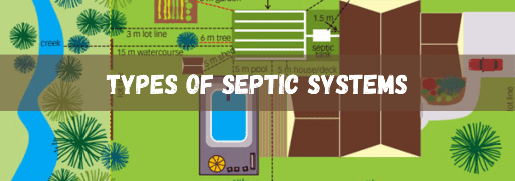 Types of Septic Systems Container Homes