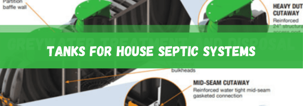 Tanks for Container House Septic Systems