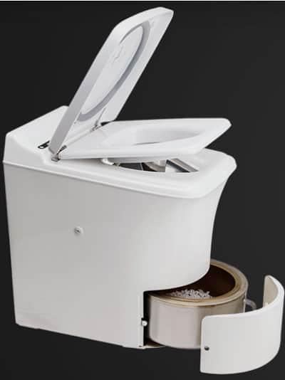 incinerating toilet